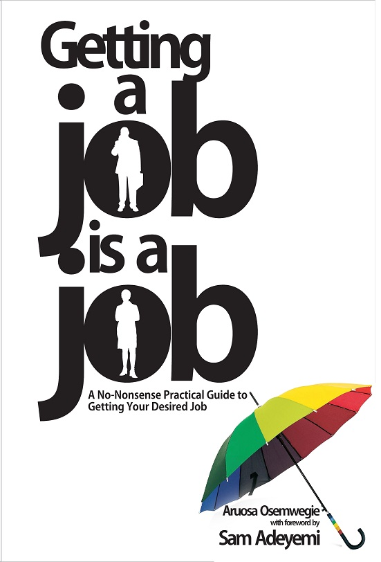 book new GETTIMG JOB IS A JOB cover.cdr