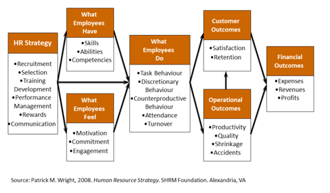 Linking People, Strategy and Performance
